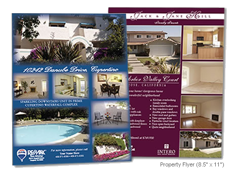 homes for sale flyers